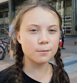 Greta Thunberg, photo by Jan Ainali